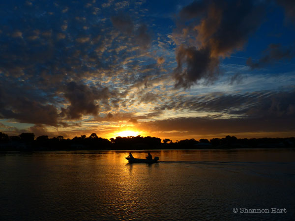 Sunset on Intracoastal - New Smyrna Beach, FL