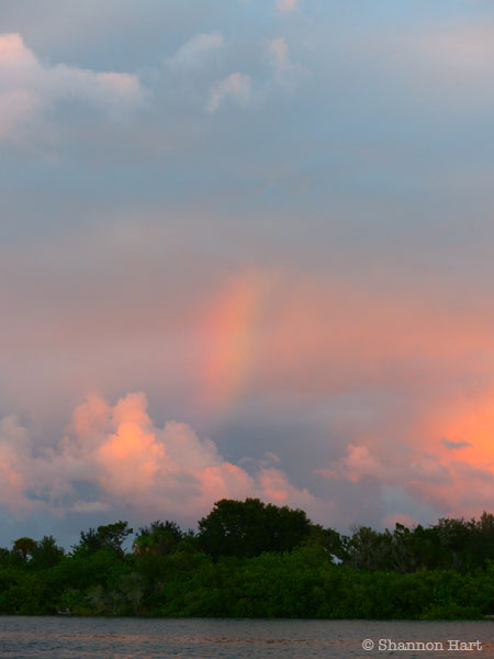 Rainbow Sunset - New Smyrna Beach, FL